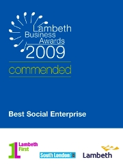 Lambeth Business Awards 2009 - Commended Best Social Enterprise